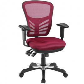 Articulate EEI757 Red Mesh Office Chair