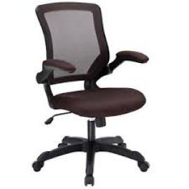 Veer EEI825BRN Brown Mesh Office Chair