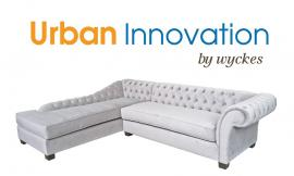 Elizabeth Custom Tufted Sectional By Urban Innovation