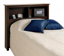 Espresso Twin Bookcase Headboard ESH4543