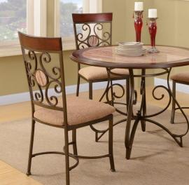 Poundex F1091 French Fashion Dining Chair Set of 2