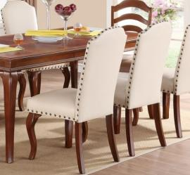 Poundex F1399 Parson Dining Chair Set of 2