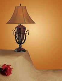 Poundex F5237 Traditional Table Lamp Set of Two