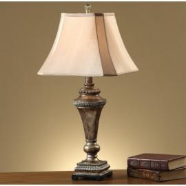 Poundex F5271 Traditional Table Lamp Set of Two