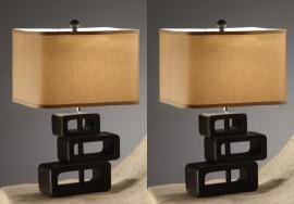 Poundex F5326 Set of 2 table lamps