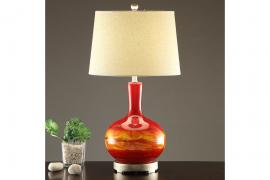 Poundex F5378 Table Lamp Set of Two