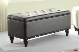 Poundex F6805 Ottoman with Storage