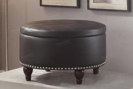 Poundex F6808 Ottoman with Storage