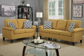Cayce F6906 Citrus Contemporary Sofa and Loveseat Set