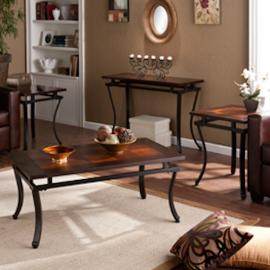GP0023 Modesto By Southern Enterprises Table Collection Set of 4