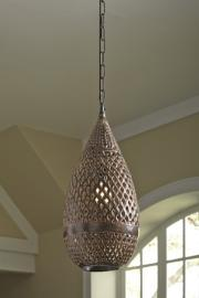 L000638 Jonelle by Ashley Metal Pendant Light In Antique Brown