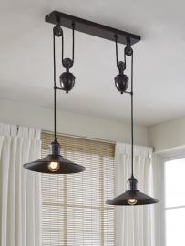 L000648 Kylen by Ashley Metal Pendant Light In Bronze Finish