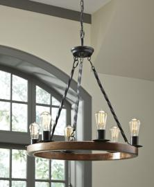 L000658 Plato by Ashley Wood Pendant Light In Brown/Black