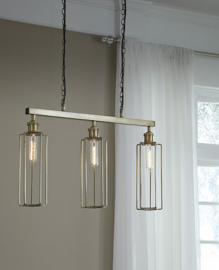 L000738 Hilary Plato by Ashley Wood Pendant Light In Brass Finish