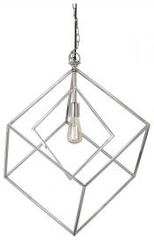 L000868 Neysa by Ashley Metal Pendant Light In Silver