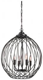 L000928 Maalik by Ashley Metal Pendant Light In Bronze