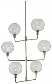 L000938 Merton by Ashley Metal Pendant Light In Silver