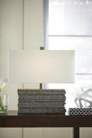 L235544 Jamaal by Ashley Poly Table Lamp In Gray