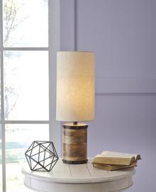 L327194 Ian by Ashley Wood Table Lamp in Natural
