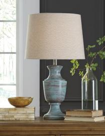 L327204 Jehoram by Ashley Wood Table Lamp in Blue