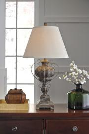 L511984 Jaleh By Ashley Poly Table Lamp In Antique Black