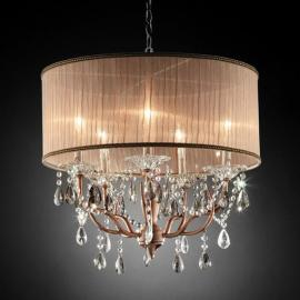 Cecilia Ceiling Lamp by Furniture of America L95126H Pendant Lighting