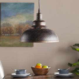 LT1806 Morova By Southern Enterprises Bell Pendant Lamp