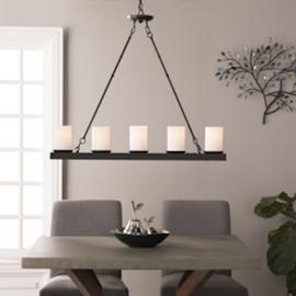 LT1901 Parmely By Southern Enterprises 5-Light Island Pendant Lamp