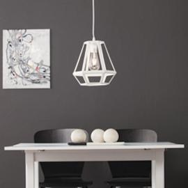 LT2815 Draco By Southern Enterprises Caged Lantern Pendant Lamp - Contemporary Style
