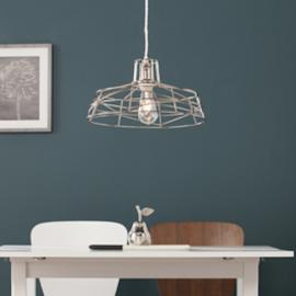 LT3812 Lambro By Southern Enterprises Wire Cage Pendant Lamp - Contemporary Style