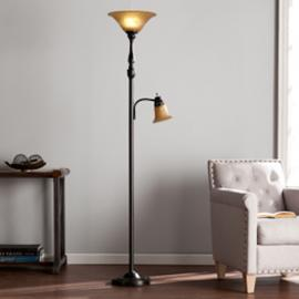 LT4102 Ferguson By Southern Enterprises Floor Lamp