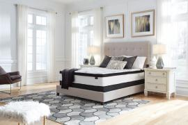 "Ashley Chime M69631 10"" Hybrid Innerspring Mattress Queen Bed In A Box"
