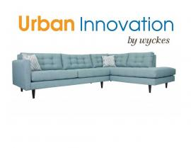 Oliver Custom Sectional by Urban Innovation