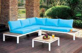 Winona OS2580 Patio Sectional With Ottoman