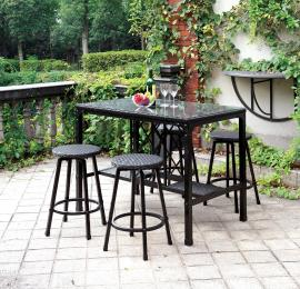 Cheri OT2318PT 5 Pc Patio Counter Height Dining Set