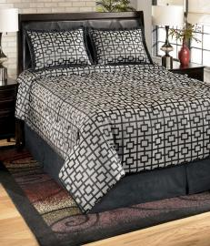 Macy Onyx Collection 4 Pc. Bedding Set