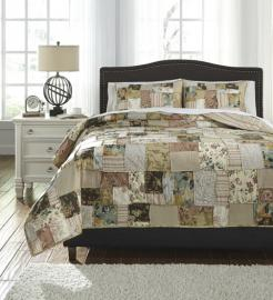 Damalis Q238003 by Ashley 3 pc. Bedding Set