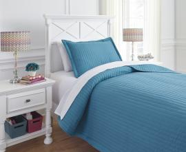 Raleda Turquoise Q49500 by Ashley Bedding Set