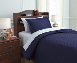 Raleda Navy Q49700 by Ashley Bedding Set