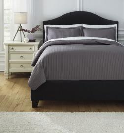 Raleda Gray Q498003 by Ashley 3 pc. Bedding Set