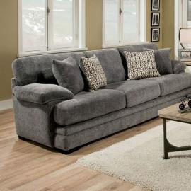 Abrianna Gray Chenille Fabric Sofa SM5162GY-SF by Furniture of America