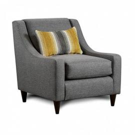 Orson Gray Fabric Chair SM8600-CH by Furniture of America