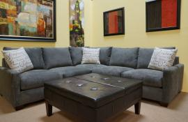 Soho Collection Custom Sectional or Sofa (FULLY CUSTOMIZABLE)