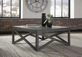 T329-8 Haroflyn by Ashley Square Cocktail Table In Gray