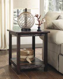 Ashley Mestler T580-3 Rustic Rectangular End Table