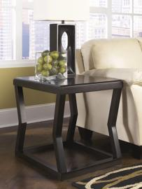 T592-3 Kelton by Ashley Rectangular End Table In Espresso