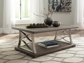 T634-1 Baymore by Ashley Rectangular Cocktail Table In Grayish Brown