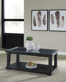 T635-1 Tyler Creek by Ashley Rectangular Cocktail Table In Black