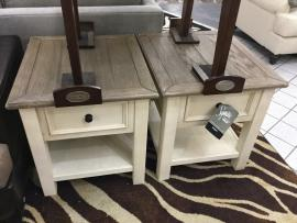 CLEARANCE End Tables set of 2 CERRITOS STORE ONLY