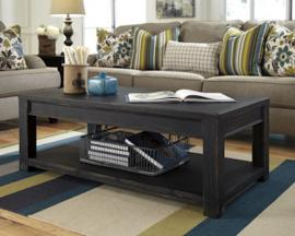 T732-1 Gavelston by Ashley Rectangular Cocktail Table In Black